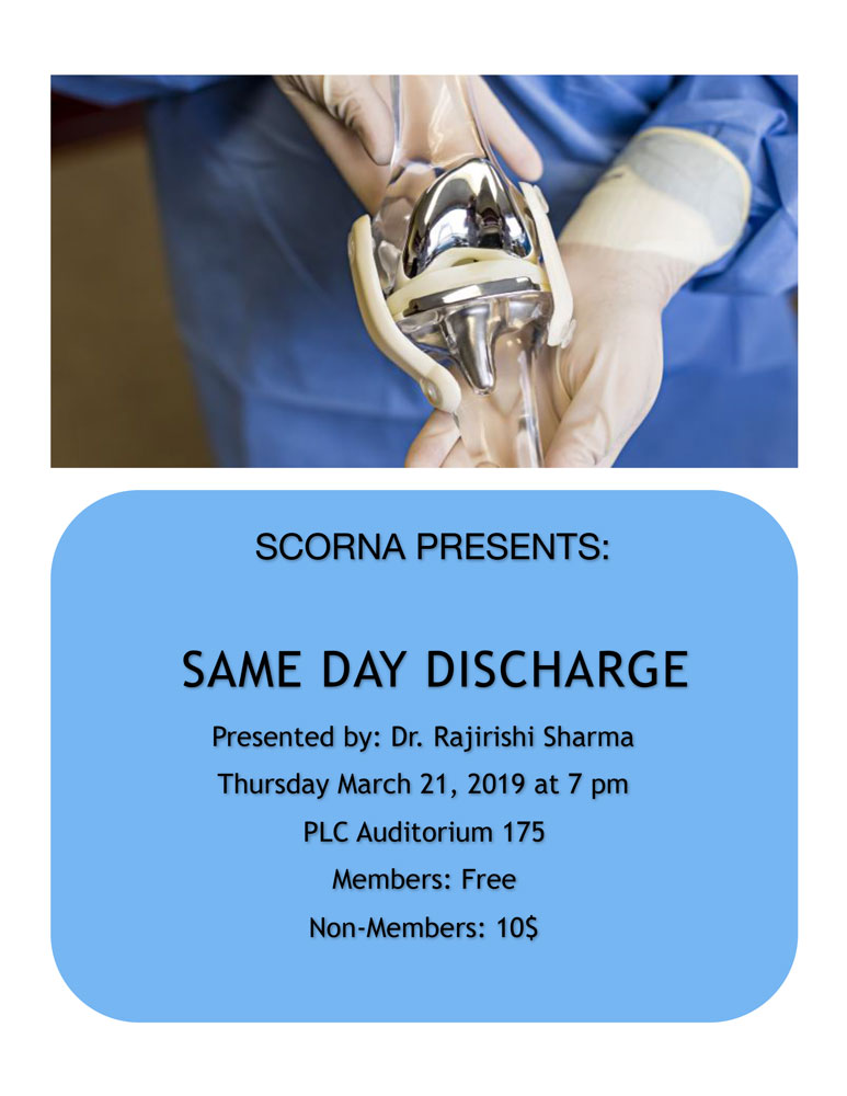 SCORNA Presentation, March 21, 2019